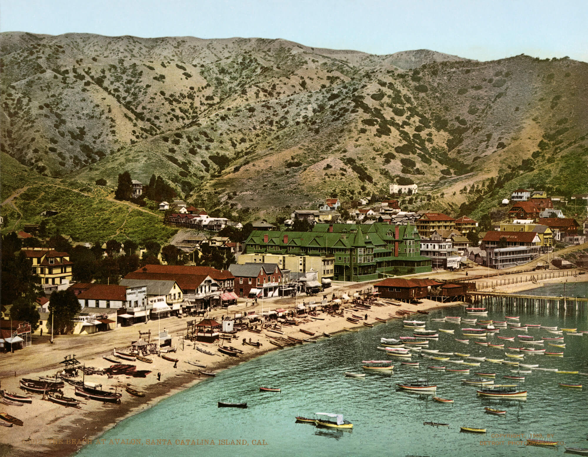 Avalon, Catalina Island California in 1903