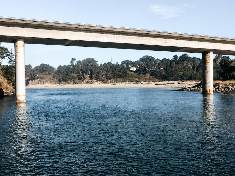 Bridge Big River Mendocino