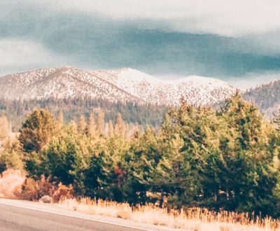 Drive to Lake Tahoe