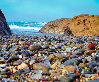 Where is Glass Beach, Fort Bragg