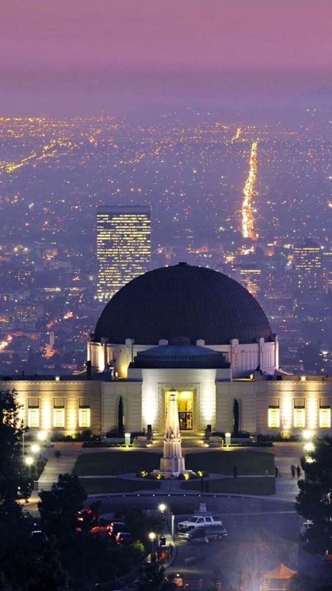 Griffith Park, Observatory, Los Angeles, California
