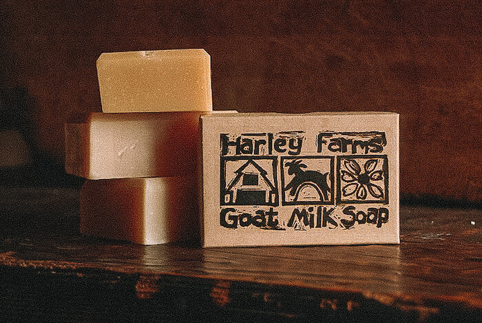 Harley Farms goat milk soap