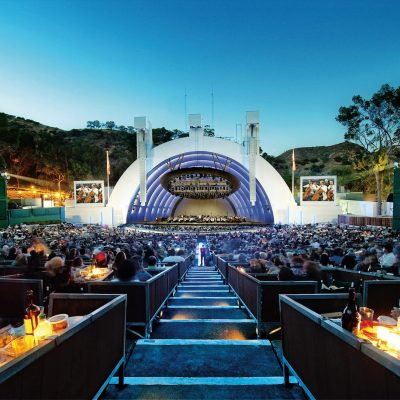 Hanging Out at the Hollywood Bowl
