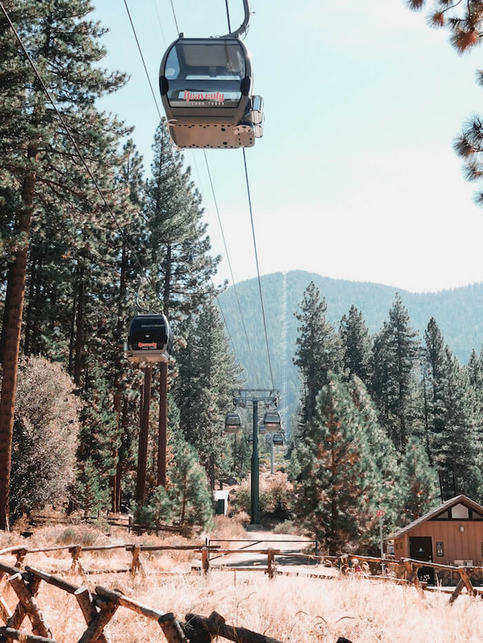 Lake Tahoe Heavenly Gondola
