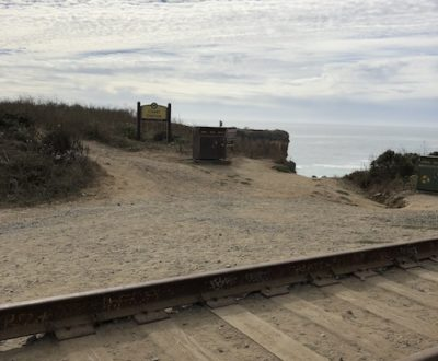 Panther Beach Railroad Tracks