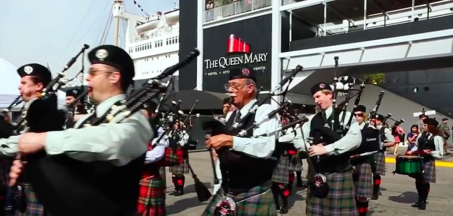 The Queen Mary Scotsfest