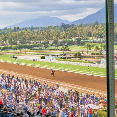 SoCal's Santa Anita Park: Off to the Races