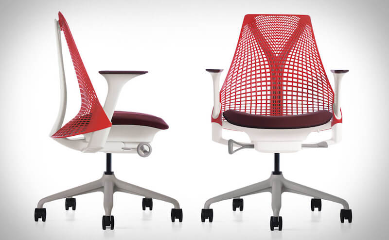 Red Herman Miller Chair