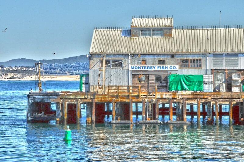 Warehouse at Monterey Pier